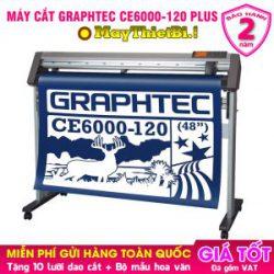 Máy cắt decal Graphtec CE6000-120 Plus: Cắt - Bế decal tem nhãn 1m2
