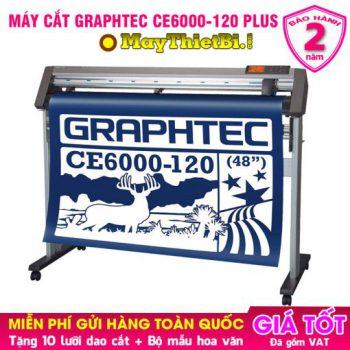 Máy cắt decal Graphtec CE6000-120 AMO: Cắt - Bế decal tem nhãn 1m2