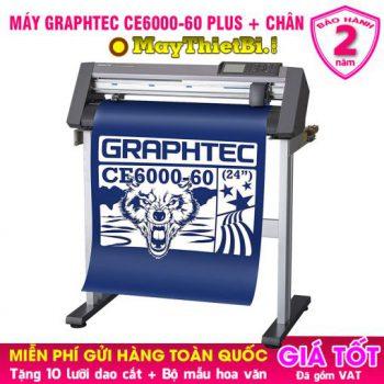 Máy cắt decal Graphtec CE6000-60 Plus kèm chân máy chính hãng