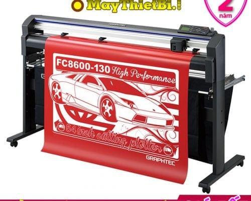 Máy cắt bế decal tem nhãn Graphtec FC8600-130 Nhật Bản