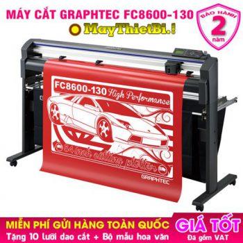 Máy cắt decal Graphtec FC8600-130. Cắt nhanh, chuẩn, bền, bế chính xác