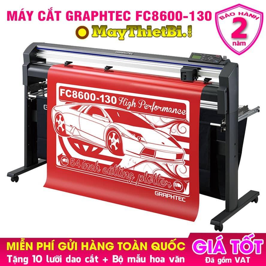 Máy cắt decal Graphtec FC8600-130 - Cắt nhanh, chuẩn, bền, bế chính xác