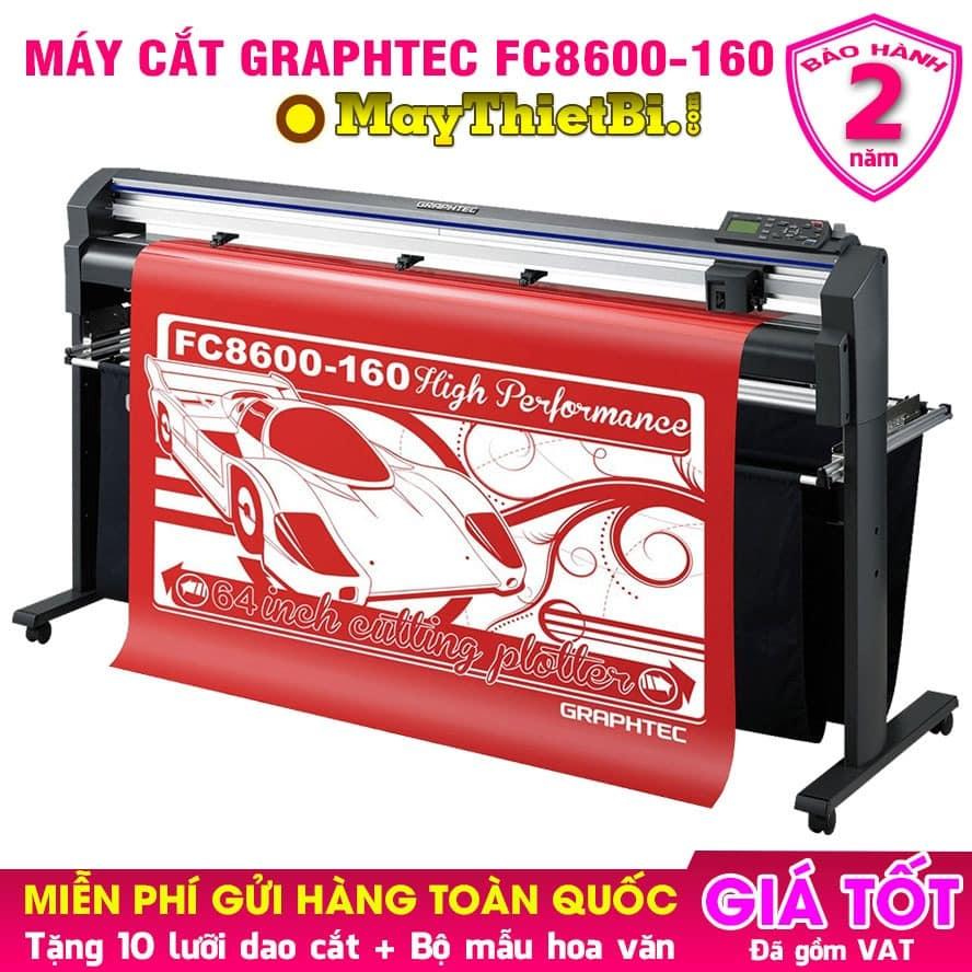 Máy cắt decal Graphtec FC8600-160 Nhật Bản cắt - bế cực chuẩn