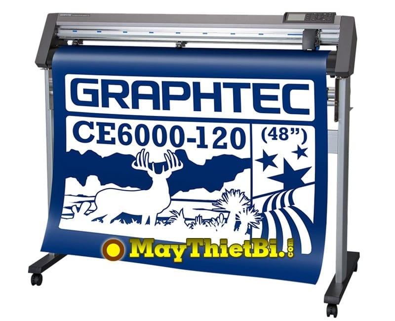 Máy cắt bế decal tem nhãn Graphtec CE6000-120 Plus