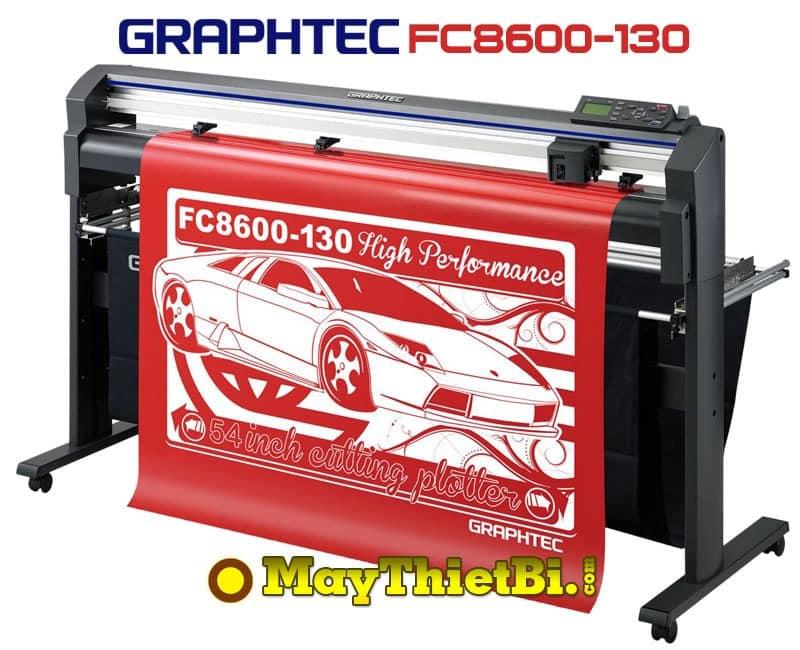 Máy cắt bế decal tem nhãn khổ 1m3 Graphtec FC8600-130 (Nhật Bản)