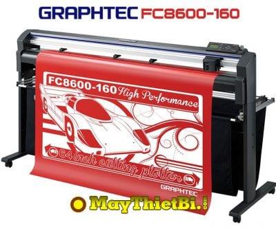 Máy cắt bế tem nhãn decal Graphtec FC8600-160 Nhật Bản