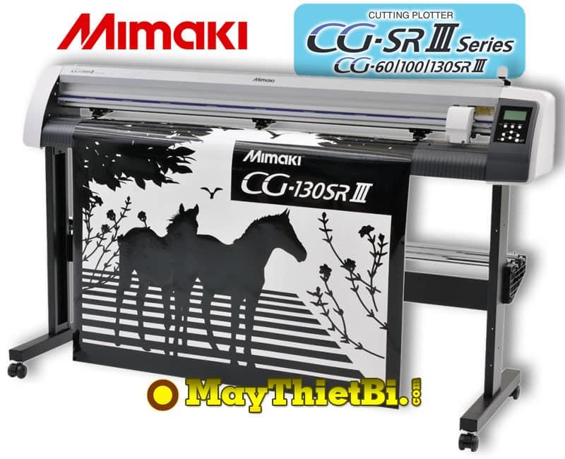 Máy cắt bế decal khổ 1m3 Mimaki CG-130SRIII (Nhật Bản)
