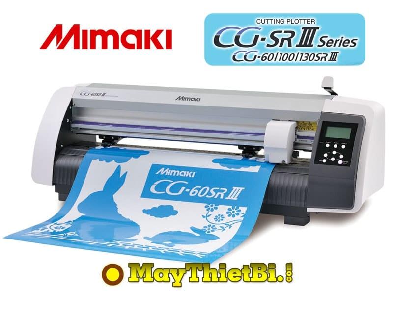 Máy cắt bế decal tem nhãn Mimaki CG-60SRIII