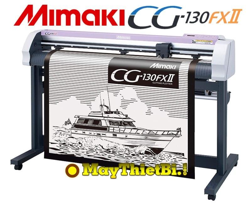Máy cắt bế decal khổ 1m3 Mimaki CG-130FXII (Nhật Bản)