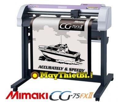Máy cắt bế tem nhãn decal Mimaki CG-75FXII Nhật Bản