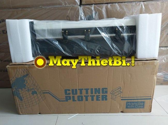Máy cắt decal AB-720 vừa khui thùng tại MayThietBi.com