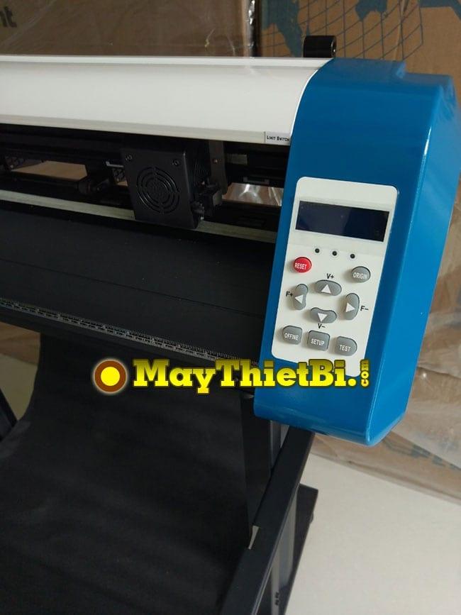 Màn hình và bàn phím máy cắt decal AB-720