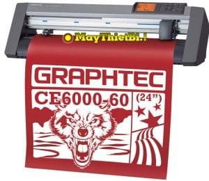 Máy cắt bế decal tem nhãn Graphtec CE6000-60 Plus