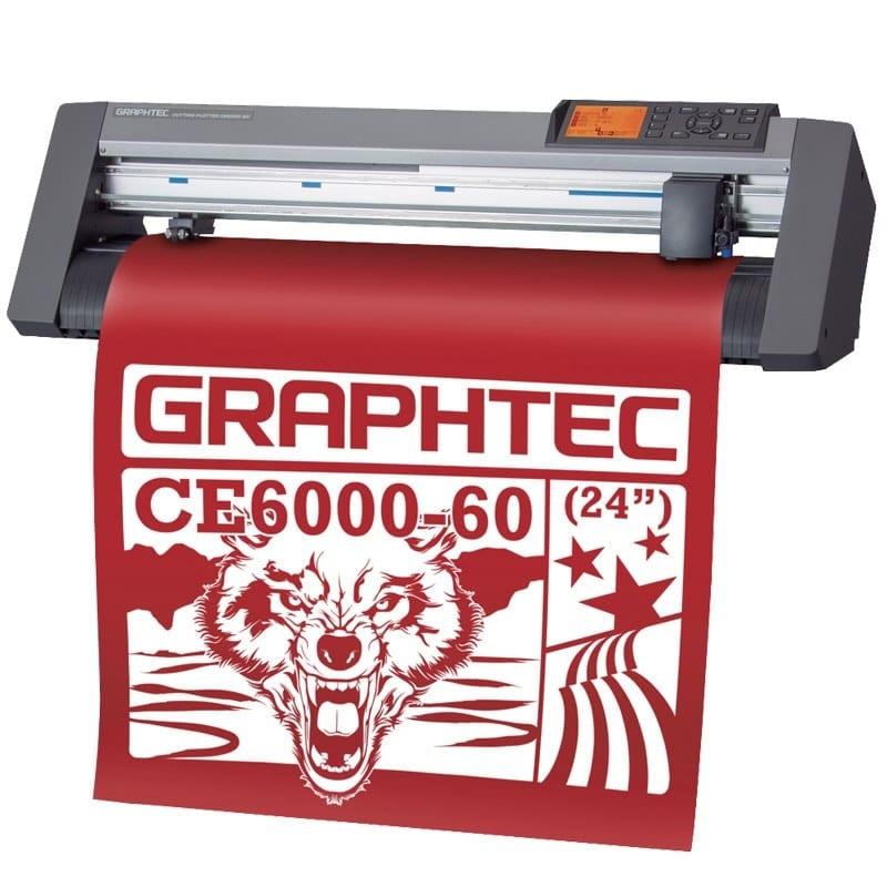 Máy cắt decal Graphtec CE6000-60 Plus cắt bế tem nhãn chính xác