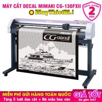 Máy cắt decal Mimaki CG-130FXII Nhật Bản cắt nhanh, bế chuẩn, giá tốt