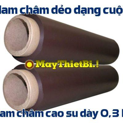 Nam châm dẻo dạng cuộn dày 0.3mm, rộng 62cm, dài 15m