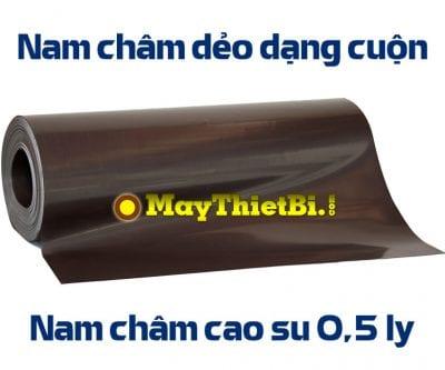 Nam châm dẻo dạng cuộn dày 0.5mm