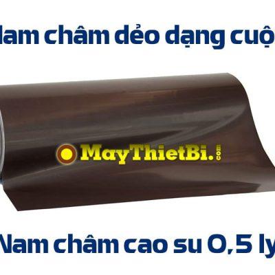 Nam châm dẻo dạng cuộn dày 0.5mm, dài 15m, rộng 62cm