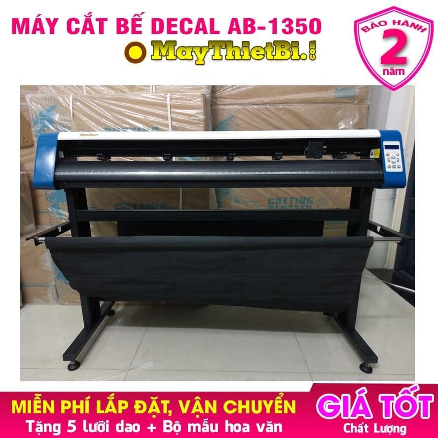 Máy cắt bế decal giá rẻ AB-1350