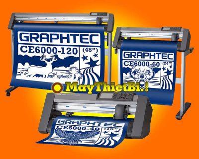 Tính năng cắt bế decal tờ rời liên tục không cần đo giấy của máy cắt Graphtec CE6000 Plus