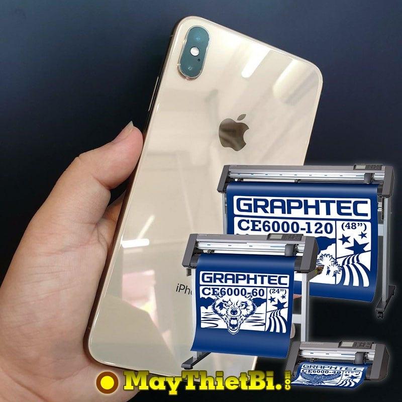 Máy cắt decal Graphtec CE6000 Plus - Cắt bế film kính dẻo cường lực (PPF) màn hình điện thoại tốt nhất