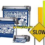 Cắt decal phản quang 3M 3900 – 3400 bảng giao thông với máy Graphtec CE6000 Plus