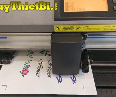 Cách tạo file cắt bế tem nhãn trong Corel với Cutting Master 4 cùng máy Graphtec CE6000 Plus