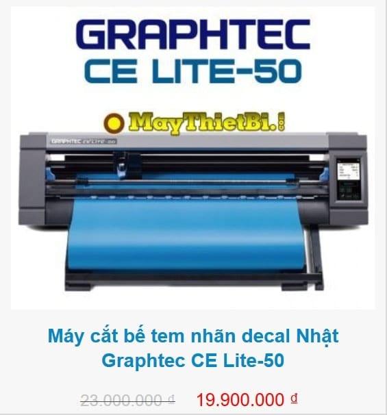 Máy cắt decal Graphtec CE Lite-50