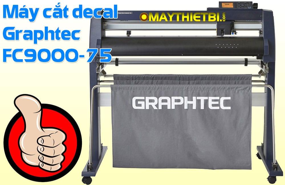 Máy cắt decal nhiệt in áo cao cấp Graphtec FC9000-75