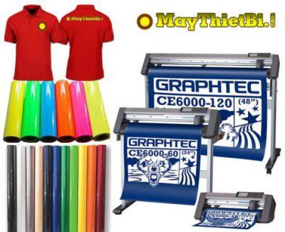 Máy cắt decal chuyển nhiệt in áo tốt nhất là Graphtec CE6000 Plus, CE7000