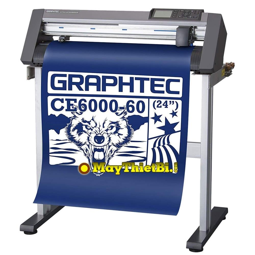 Máy cắt bế decal Graphtec CE6000-60 Plus