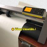 Cắt decal chuyển nhiệt chữ nhỏ bằng máy cắt decal Graphtec CE6000 Plus