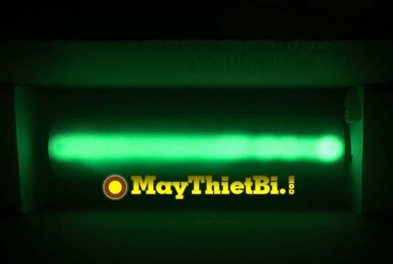 Decal nhiệt dạ quang khi tắt điện
