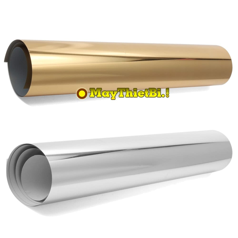 Decal chuyển nhiệt gold - silver PU