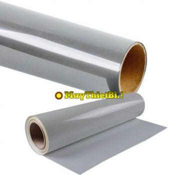 Decal ép nhiệt phản quang bạc PU khổ 0,61x50m giá rẻ