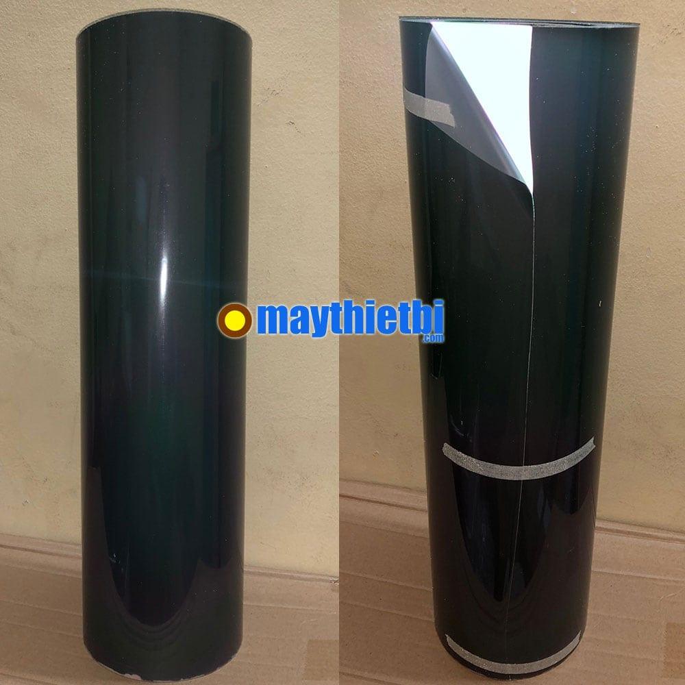 Decal chuyển nhiệt phản quang màu đen in áo khổ 50cm x 50m