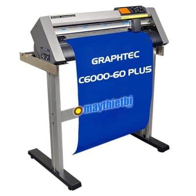 Máy cắt decal Graphtec CE6000-60 Plus, CE7000: Giá rẻ, cắt nét nhỏ cực đẹp