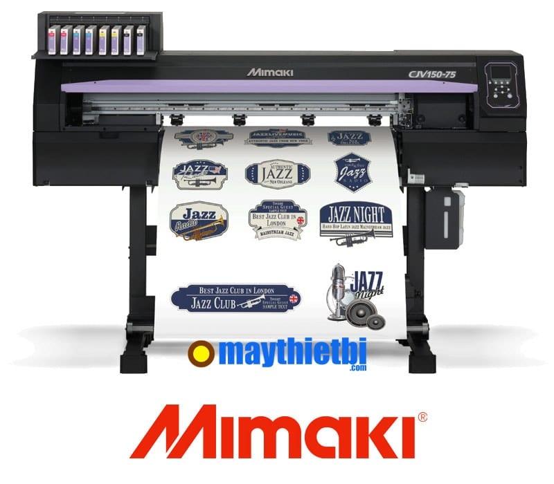 Máy vừa in vừa cắt bế Mimaki CJV150 series