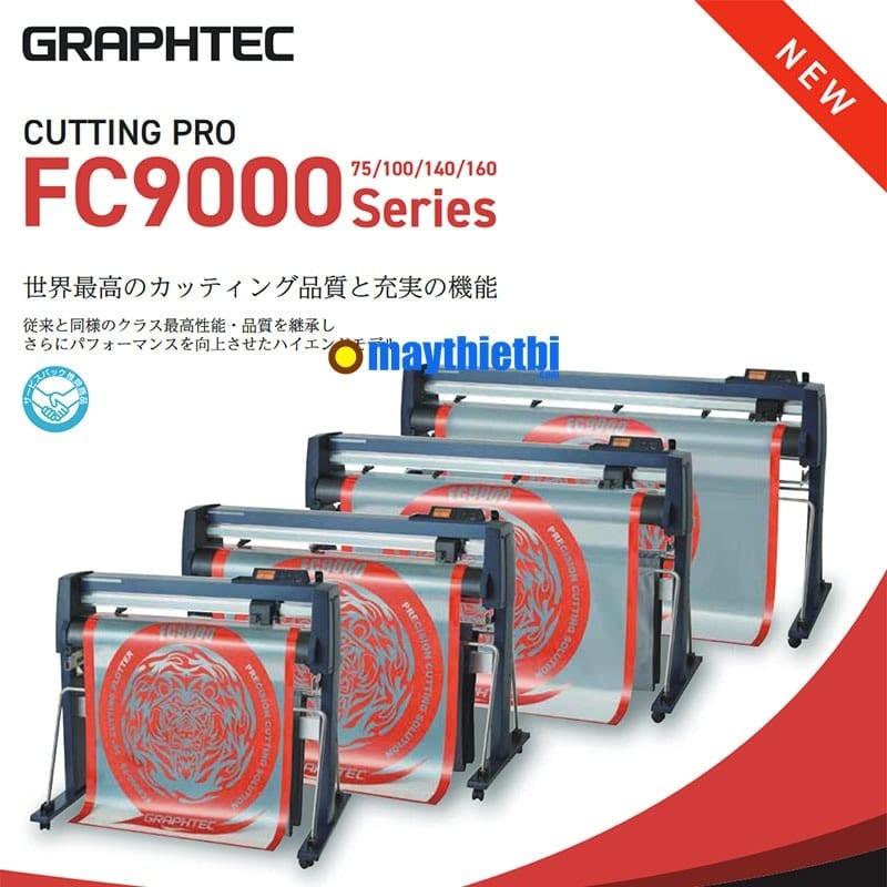 Máy cắt decal Graphtec FC9000 Nhật Bản