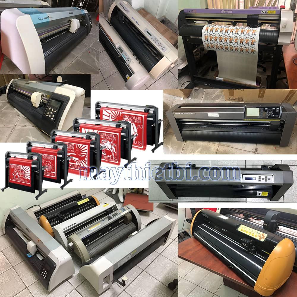 Mua bán máy cắt decal cũ - Thu mua máy cắt chữ đề can Mimaki, Graphtec, ĐL, TQ qua sử dụng