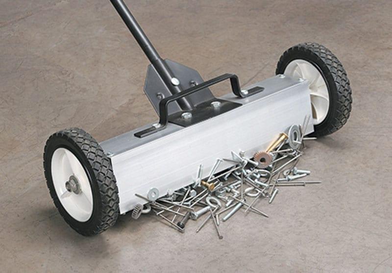 Nguyên lý hoạt động của xe đẩy nam châm hút sắt thép