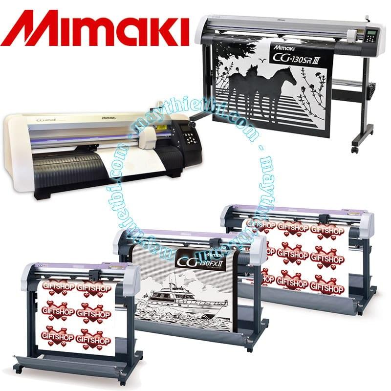Tại sao máy cắt decal Mimaki CG FXII lại đắt gấp đôi dòng Mimaki CG SRIII
