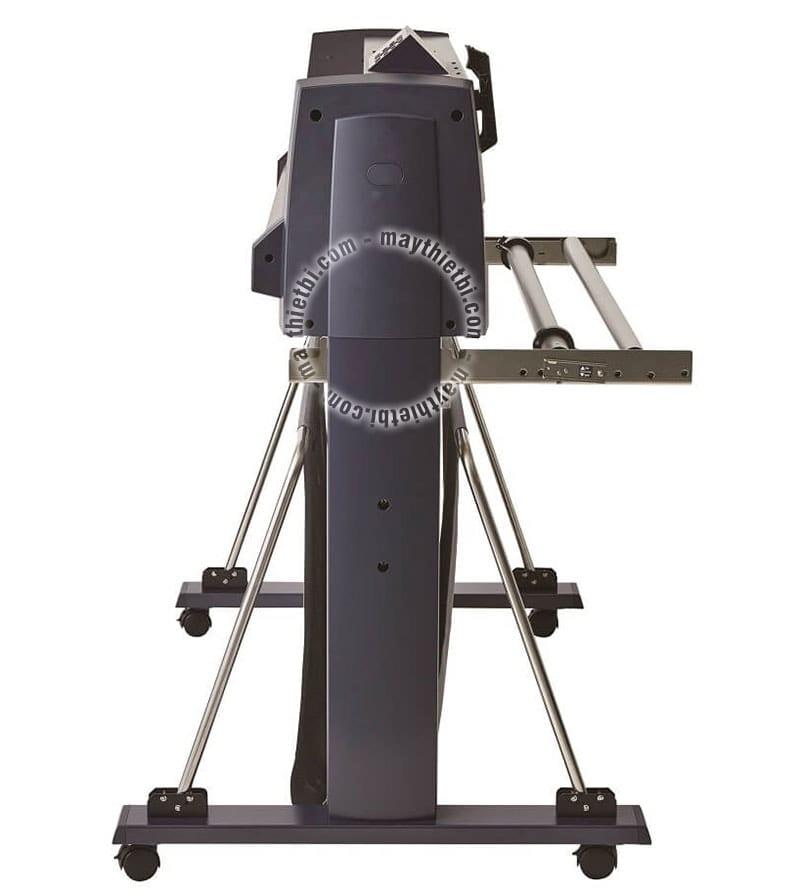 Chân máy cắt decal Graphtec FC9000 chuyên nghiệp, kèm giỏ đựng vật liệu