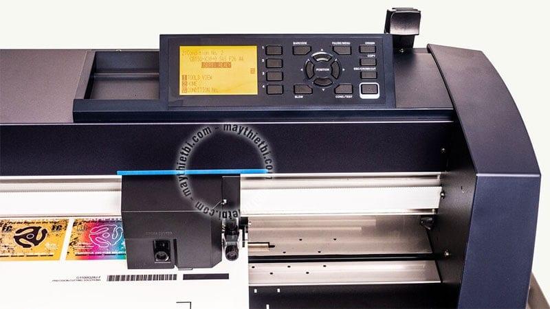 Công nghệ datalink barcode cho phép cắt bế chính xác, tự chia file dài, chống lệch