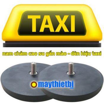 Nam châm cao su có ốc vít làm mào taxi, tem từ xe taxi loại lớn giá rẻ