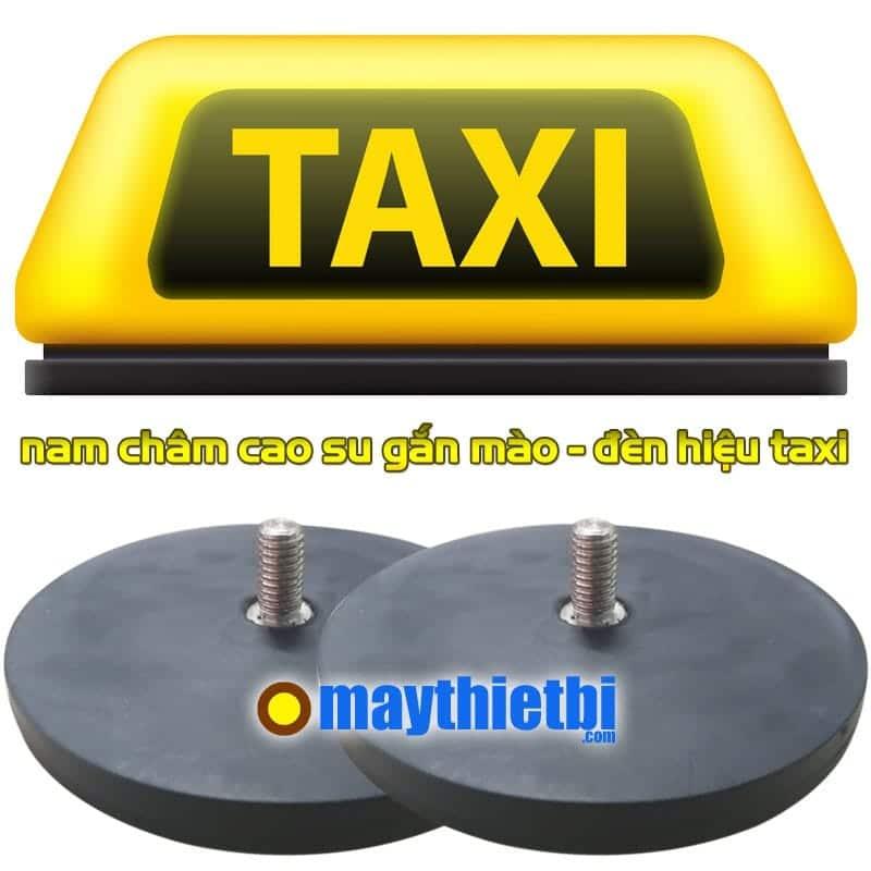 Nam châm cao su gắn mào taxi