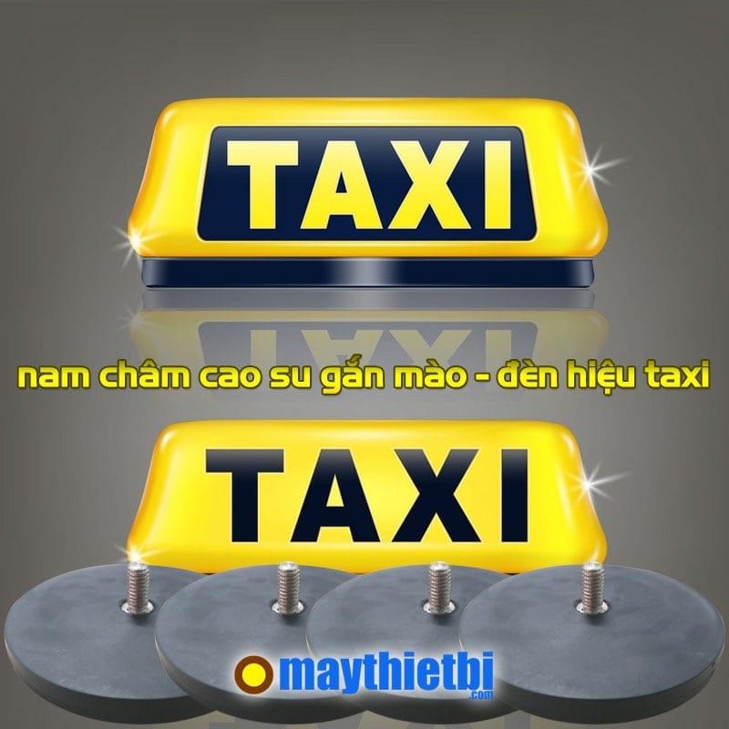 Nam châm cao su gắn đế đèn taxi, mào xe taxi