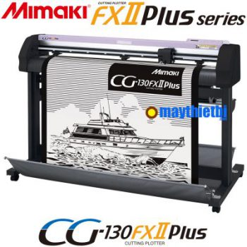 Máy cắt decal Mimaki CG-130FXII Plus cắt dài không lệch, cắt bế tem nhãn chính xác