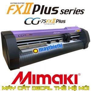 Máy cắt decal Mimaki CG-75FXII Plus - Cắt bế tem nhãn, cắt decal dài cực chuẩn