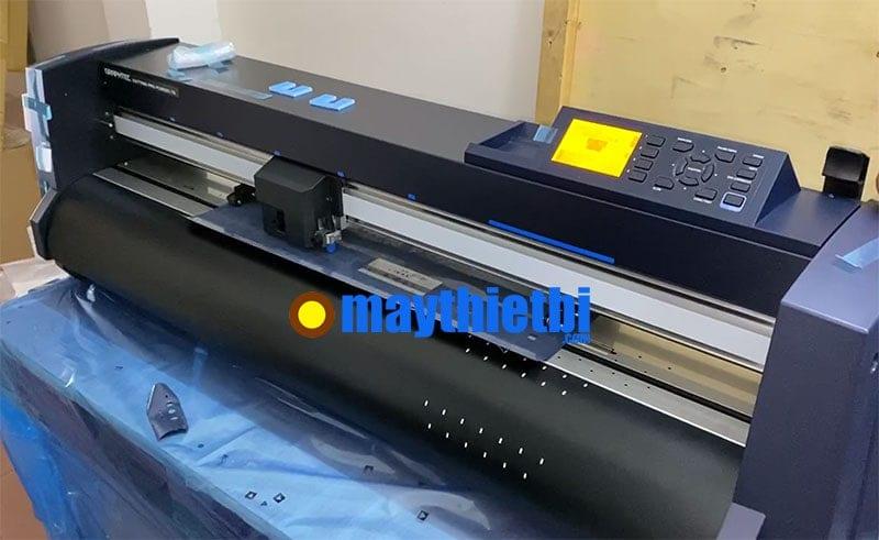 Review mở thùng máy cắt decal Graphtec FC9000 đầu tiên về Việt Nam